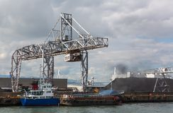 Osaka Port, Marine Cargo, Fotografia Stock Libera da Diritti