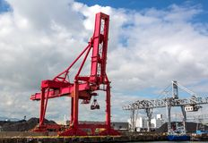Osaka Port, Marine Cargo, Immagine Stock