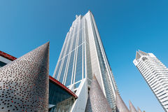 Osaka Prefectural Government Sakishima Building oder Cosmo-Turm, Lizenzfreie Stockfotografie