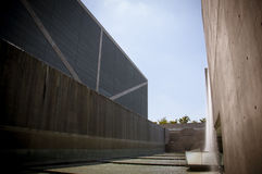Osaka Prefectural Sayamaike Museum. The museum is designed by Tadao Ando, a Japanese architect Royalty Free Stock Photo