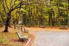 Osaka public park in autumn. Is around Osaka castle, Japan Stock Photos