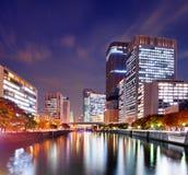 Osaka River Stock Photo