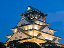 Osaka-Schloss Lizenzfreie Stockfotos