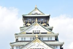 Osaka-Schloss Japan Stockfotografie