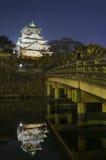 Osaka-Schloss in Japan Lizenzfreie Stockfotos