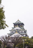 Osaka-Schloss, Welterbe in Osaka, Japan Stockfotos