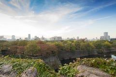 Osaka-Schlosspark in Kyoto, Japan Stockfotos