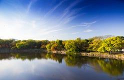 Osaka-Schlosspark in Kyoto, Japan Stockbilder