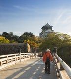 Osaka-Schlosspark in Kyoto, Japan Stockfotografie
