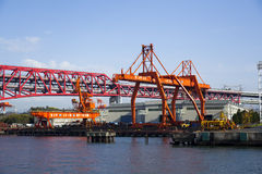 Osaka seaport Royalty Free Stock Photo