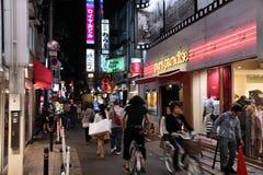 Osaka shopping Stock Image