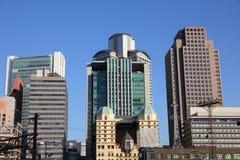 Osaka skyline Stock Photo