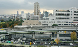 Osaka Skyline Royalty Free Stock Image