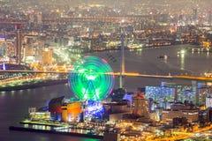 Osaka skyline Royalty Free Stock Photography