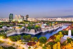 Osaka Skyline Stock Photography