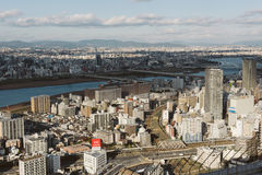 Osaka Skyline. Royalty Free Stock Image