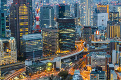Osaka Skyline Kansai , Japan Royalty Free Stock Photo