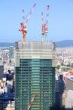 Osaka skyscraper construction Royalty Free Stock Photography