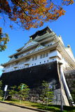Osaka slott Arkivfoto