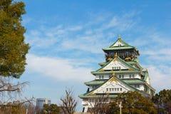 Osaka slott Royaltyfria Foton