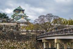 Osaka slott Royaltyfri Foto