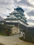 Osaka slott - Japan Royaltyfri Fotografi