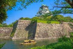 Osaka slott Japan royaltyfri bild