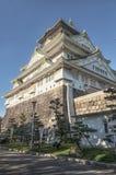 Osaka slott, Japan. Arkivfoto