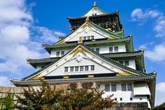 Osaka slott Japan Royaltyfria Foton