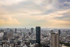 Osaka solnedgång Royaltyfria Bilder