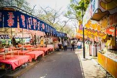 Osaka spring festival Stock Image
