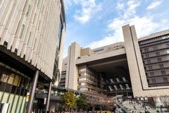 Osaka stacja jest ważnym stacją kolejową w Umeda okręgu Kita-ku, Osaka, Japonia, działający Zachodem Japonia Kolej Firma zdjęcia royalty free