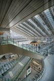 Osaka stacja pod HD skutkiem Obraz Royalty Free