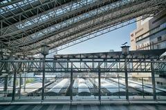 Osaka stacja pod HD skutkiem Zdjęcia Stock