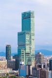 Osaka stadslandskap, Japan Royaltyfria Bilder