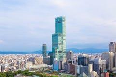 Osaka stadslandskap, Japan Royaltyfria Foton