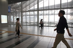 Osaka Station Royalty Free Stock Photos