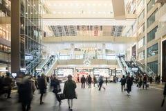 Osaka Station es el eje más grande del tránsito de Japa occidental Fotos de archivo