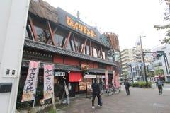 Osaka street view in Japan Royalty Free Stock Photos