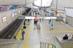 Osaka subway Stock Image