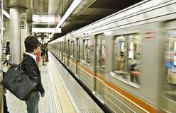 Osaka subway Royalty Free Stock Photography