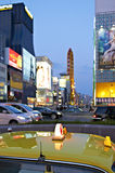 Osaka taxar Royaltyfria Foton