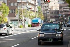 OSAKA Taxi Imágenes de archivo libres de regalías