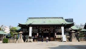 Osaka Tenmangu Shrine Royaltyfri Foto