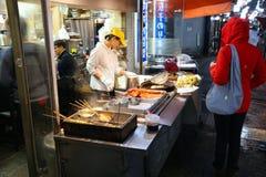 Osaka ulicy jedzenie Obrazy Royalty Free