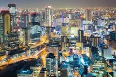 Osaka umeda night Royalty Free Stock Image