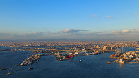 Osaka zatoka obrazy royalty free