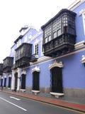 Osambela dwór w historycznym centrum Lima Obraz Stock