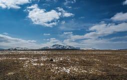osamotniona góra Obrazy Royalty Free