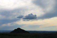 osamotniona góra Zdjęcie Stock